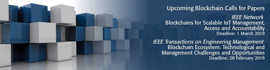 IEEE Blockchain Call for Papers - Submit your paper today