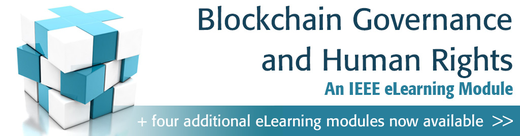 Blockchain Governance and Human Rights. An IEEE eLearning Module.