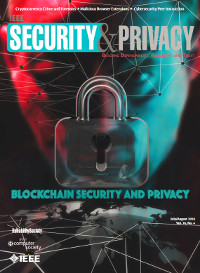 IEEE Security and Privacy, July/August 2018 - Blockchain Security and Privacy